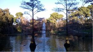 El Parque del Buen Retiro, Madrid, Spain.