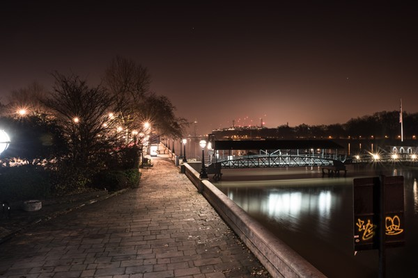 River Path in London